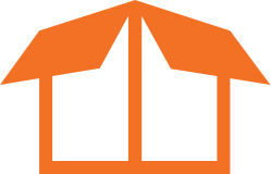 Manufacturing Icon Orange